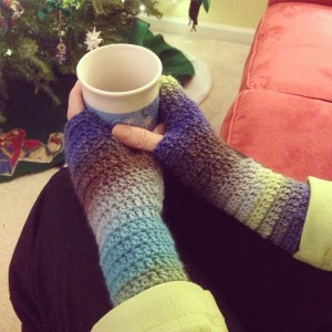 SimpleCrochetHandWarmers